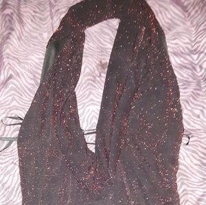 Long sparkle dress
